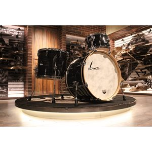 SONOR VINTAGE SERIES 3-PIECE BLACK SLATE DRUM SET (13-16-22)