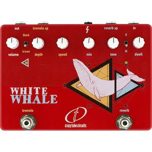 CRAZY TUBE CIRCUITS WHITE WHALE REVERB