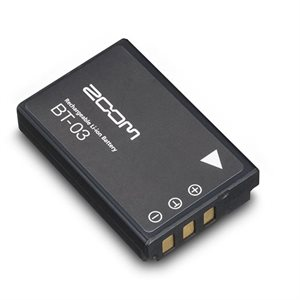 ZOOM BT-03 BATTERIE RECHARGABLE POUR CAMERA Q8