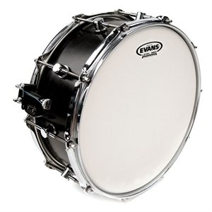 EVANS SNARE BATTER DOUBLE PLY WHITE 14