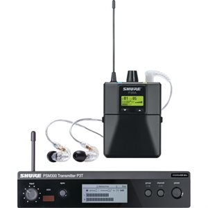 SHURE WIRELESS PSM300 P3TRA215CL-J13