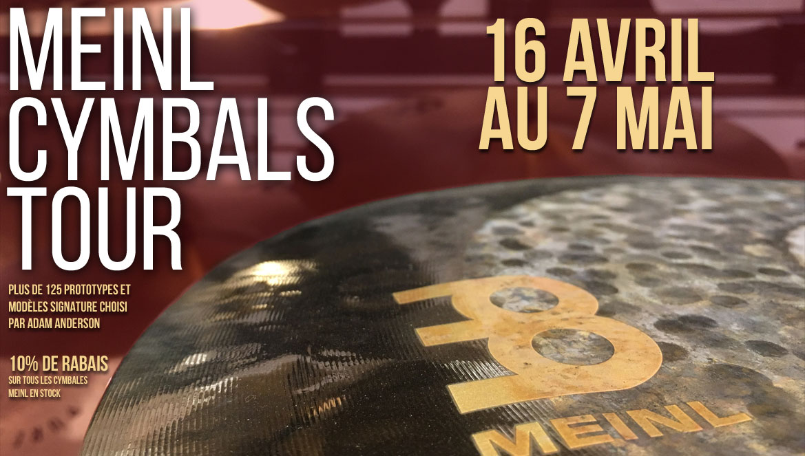 MEINL CYMBALS TOUR
