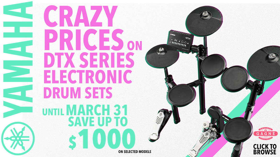 Crazy Prices on DTX Series Drum Sets